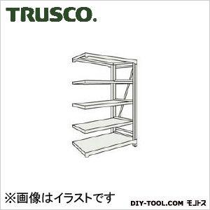 トラスコ(TRUSCO) M10型重量棚1200X760XH18005段連結ネオグレ NG 760 x 1800 x 350 mm M106475B 1台