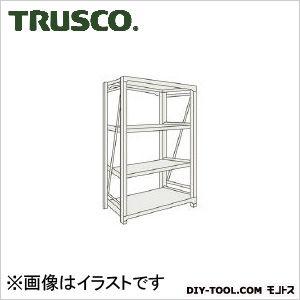 トラスコ M10型1トン重量棚 単体 ネオグレー 1500×760×H1500 M105574