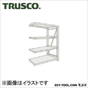 トラスコ(TRUSCO) M10型重量棚1800X900XH12004段連結ネオグレ NG 900 x 1800 x 300 mm M104694B 1台