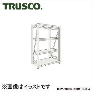 トラスコ M10型1トン重量棚 単体 ネオグレー 1800×760×H1200 M104674