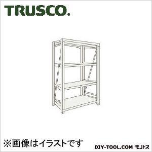 トラスコ M10型1トン重量棚 単体 ネオグレー 1500×620×H1200 M104564