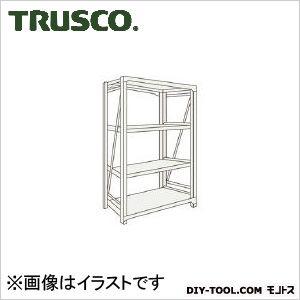 トラスコ M10型1トン重量棚 単体 ネオグレー 1200×760×H1200 M104474