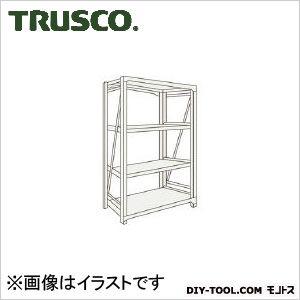 トラスコ(TRUSCO) M10型重量棚900X900XH12004段単体ネオグレ NG 900 x 1200 x 300 mm M104394 1台