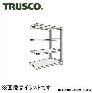 トラスコ(TRUSCO) M1.5型軽中量棚1160X445X15004段連結ネオグレ NG M1.55444B 1台
