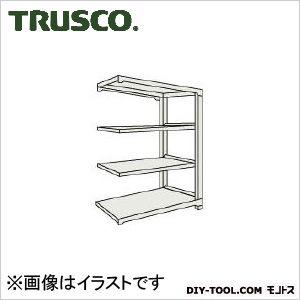 トラスコ(TRUSCO) M1.5型軽中量棚860X445X15004段連結ネオグレ NG M1.55344B 1台