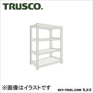 トラスコ(TRUSCO) M1.5型軽中量棚1160X445X12004段単体ネオグレ NG M1.54444 1台