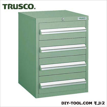 トラスコ ミニキャビネット 緑 392×412×540 LVR-542