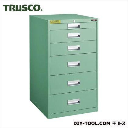 トラスコ(TRUSCO) LVE型キャビネット500X550XH880引出6段 LVE-884