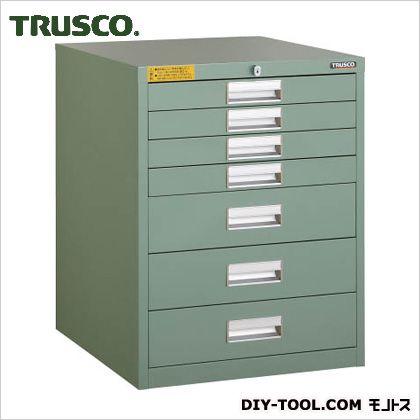 トラスコ 軽量キャビネット 500×550×650 LVE-657