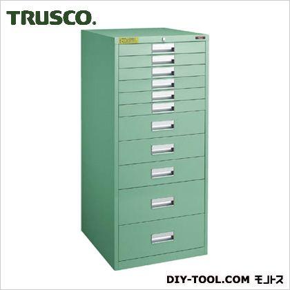 トラスコ(TRUSCO) LVE型キャビネット500X550XH1100引出11段 LVE-1106