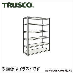 トラスコ(TRUSCO) 軽量棚中棚ボルトレス型1200X600X21006段ネオグレ NG L74W16 1台