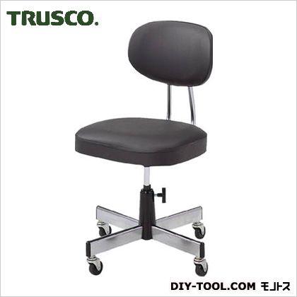 トラスコ オフィスチェア黒標準事務椅子  L2095