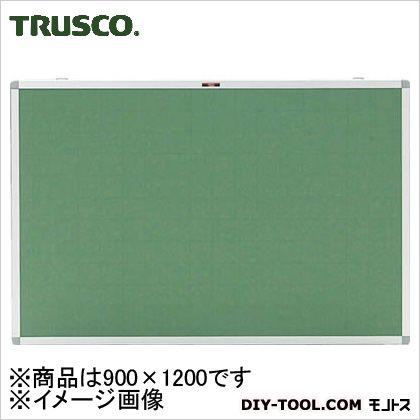 トラスコ エコロジ-クロス掲示板(暗線入り) グリーン 900×1200 (KE34SGA)