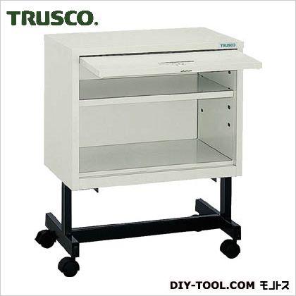トラスコ(TRUSCO) 収納ケースキャスター付オープン型扉付 KDm502C