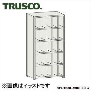 トラスコ 区分棚カード差し付 横5列型5段 879×254×1800 KC5050