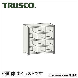 トラスコ(TRUSCO) KC型区分棚コボレ止めなし889X264XH10523列4段 264 x 889 x 1052 mm KC3042 1台