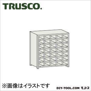 トラスコ コボレ止め付区分棚 横5列型7段 879×254×925 KB5073