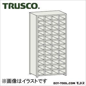 トラスコ コボレ止め付区分棚 横4列型12段 879×254×1800 KB4120