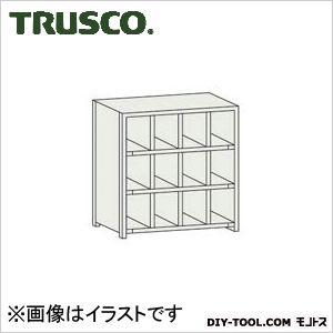トラスコ(TRUSCO) KB型区分棚コボレ止め付889X264XH9274列3段 264 x 889 x 926 mm KB4033 1台