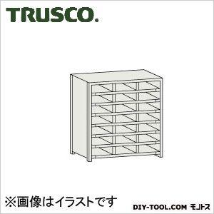 TRUSCO KB型区分棚コボレ止め付889X264XH9273列7段 KB-3073 1台
