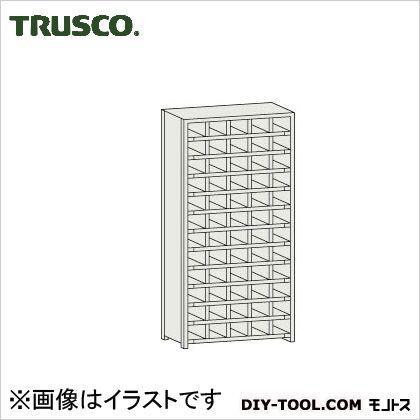トラスコ コボレ止め付区分棚 横5列型12段 879×204×1800 KA5120