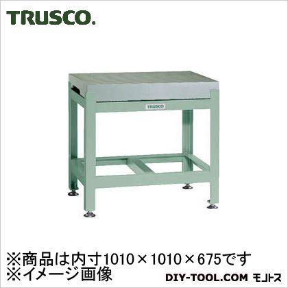トラスコ 定盤専用台完成品 内寸1010×1010×675 JB1001