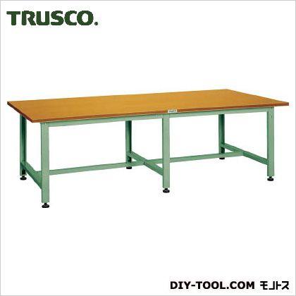 再再販! トラスコ(TRUSCO) HWD型大型作業台2400X1200XH740 HWD-2400, ニシカモグン 7c728edc