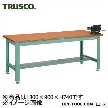トラスコ 中量作業台ダップ天板バイス  HW1809VRS