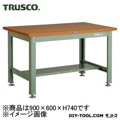 トラスコ 中量HW作業台ダップ天板 900×600 1200kg HW0960