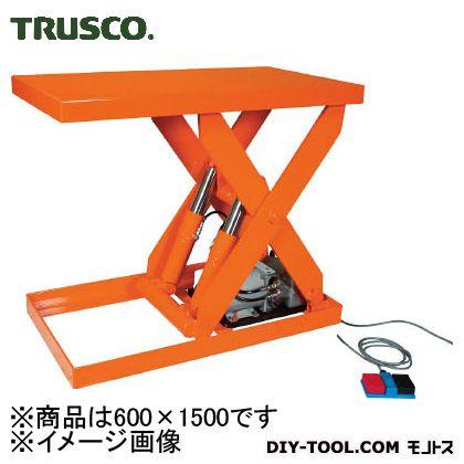 トラスコ(TRUSCO) テーブルリフト1000kg油圧式600X1500 HDL-100-0615
