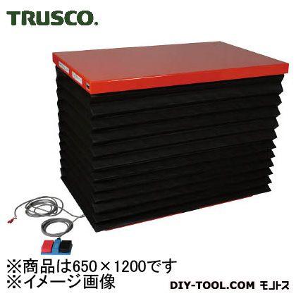 トラスコ 油圧テーブルリフト積載 1000kg650×1200 HDL1000612J