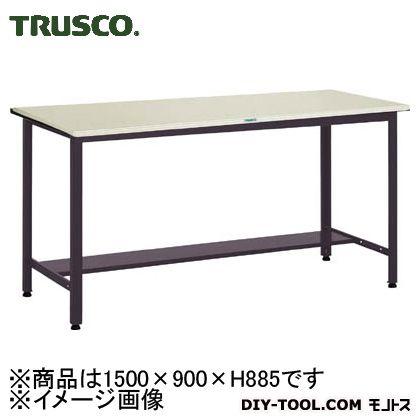 トラスコ 中量立作業台鉄天板 500kg 1500×900 HAEWS1590