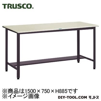 品多く HAEWS1575:DIY トラスコ 中量立作業台鉄天板 ONLINE 500kg 1500×750  SHOP FACTORY-DIY・工具