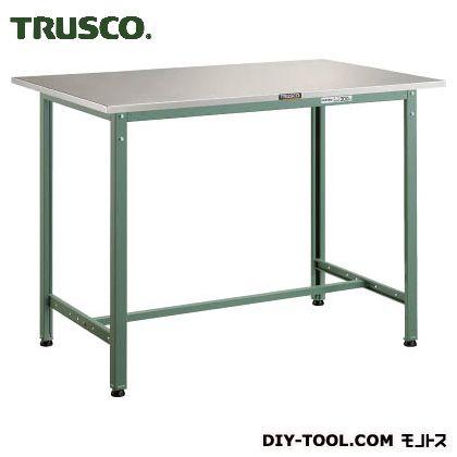 トラスコ 軽量立作業台ステンレス張り 1204×754×900 HAES1200