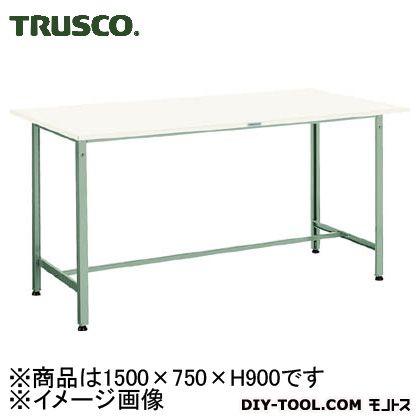 トラスコ 軽量立作業台ポリ天板 300kg1500×750×900 HAE1500