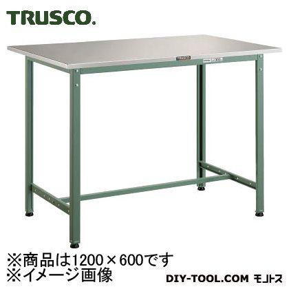 トラスコ 軽量立作業台ステンレス張り 1200×600×900 HAE1260SUS