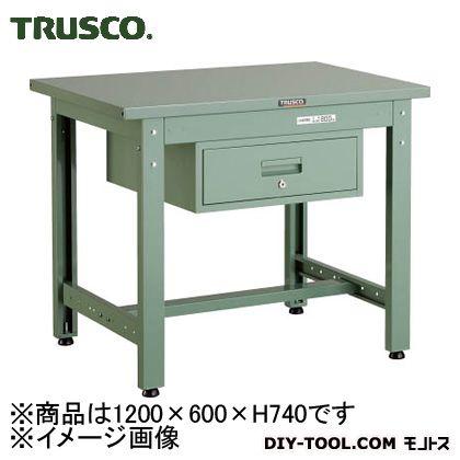 トラスコ 中量作業台スチール天板F  GWS1260F1