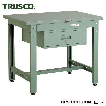 トラスコ(TRUSCO) GWS型作業台900X600XH7401段引出付 GWS-0960F1