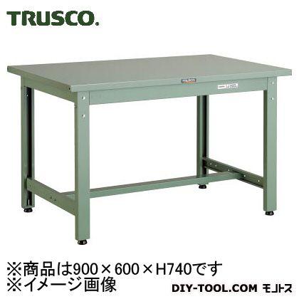 トラスコ 中量作業台(スチール天板)  GWS0960