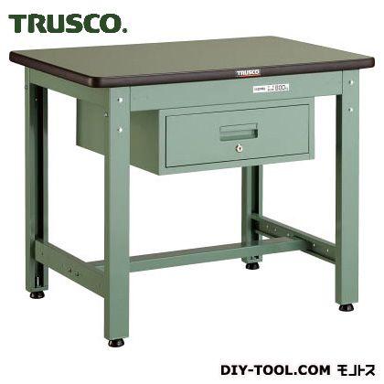 トラスコ(TRUSCO) GWR型作業台900X600XH7401段引出付 GWR-0960F1