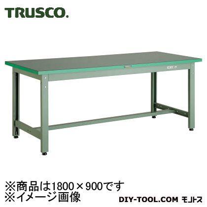 トラスコ(TRUSCO) ビニールマット張りGWP型作業台1800X900 GWP-1890E2