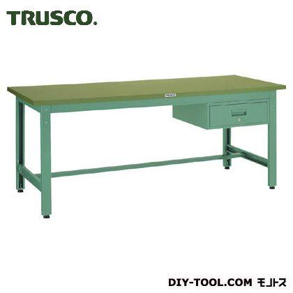 トラスコ(TRUSCO) GWP型作業台1800X750XH7401段引出付 GWP-1875F1