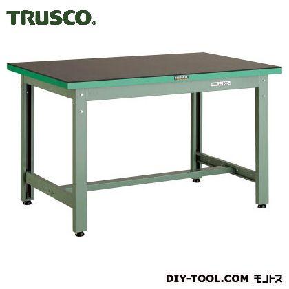 トラスコ(TRUSCO) ゴムマット張りGWP型作業台1200X750 GWP-1275G5
