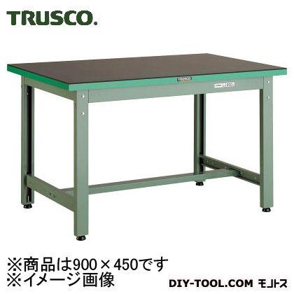 トラスコ 中量作業台ゴムマット張り  GWP0945G5