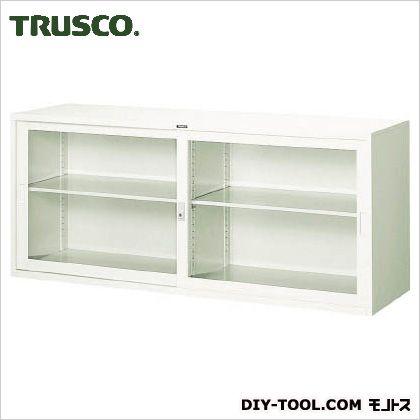 トラスコ(TRUSCO) スタンダード書庫(A3判D515)ガラス引違W1760XH750 525 x 1775 x 760 mm FJG52-G7W