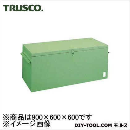 トラスコ 大型車載用工具箱中皿なし 900×600×600 F961