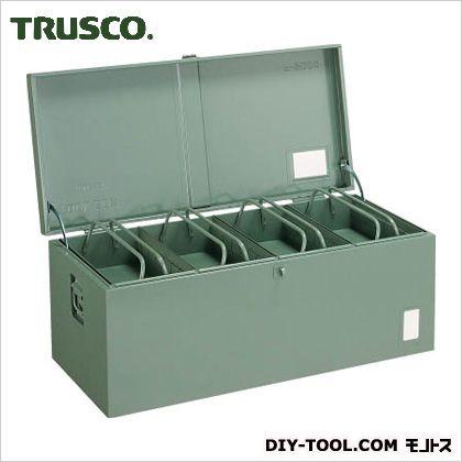 トラスコ 中型車載用工具箱中皿付 900×420×370 F9000