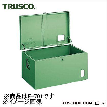 トラスコ 中型車載用工具箱中皿なし 700×330×280 F701