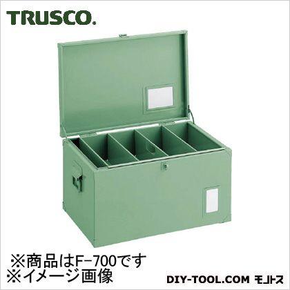 トラスコ 中型車載用工具箱中皿付 700×330×280 F700