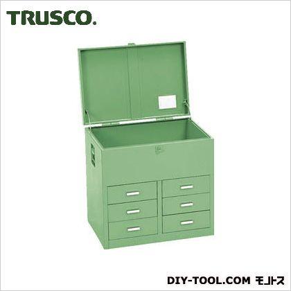 TRUSCO 車載用工具箱小6個610X420X610 F-6106